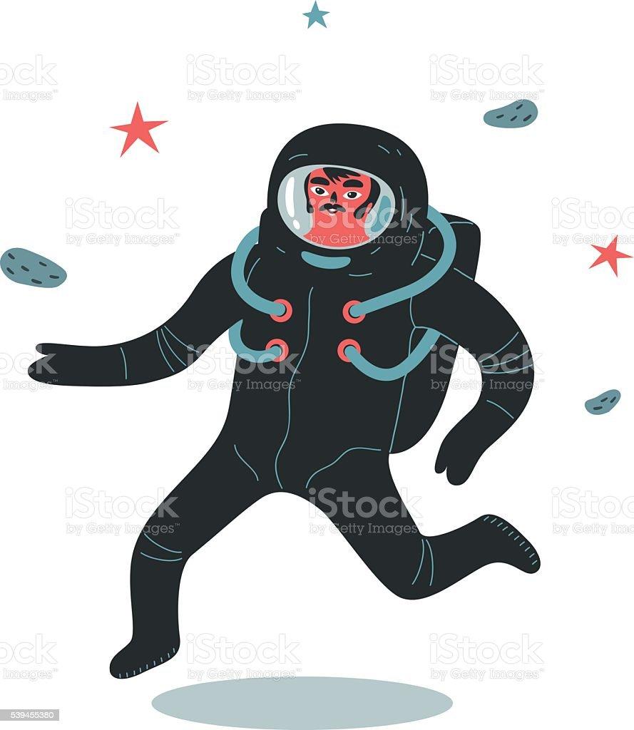 Astronaute - Illustration vectorielle