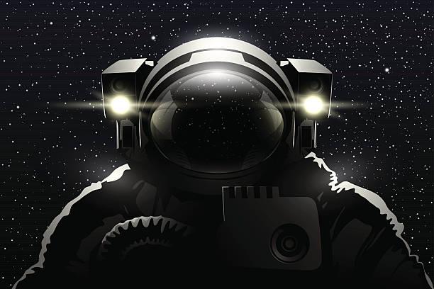 Astronauta  - illustrazione arte vettoriale