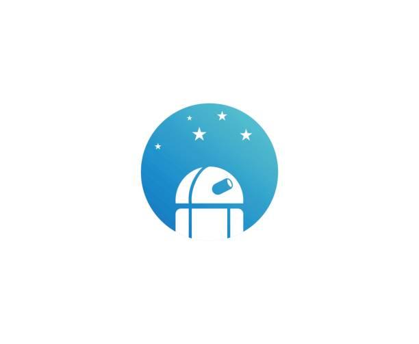 astronomie-symbol - sternwarte stock-grafiken, -clipart, -cartoons und -symbole