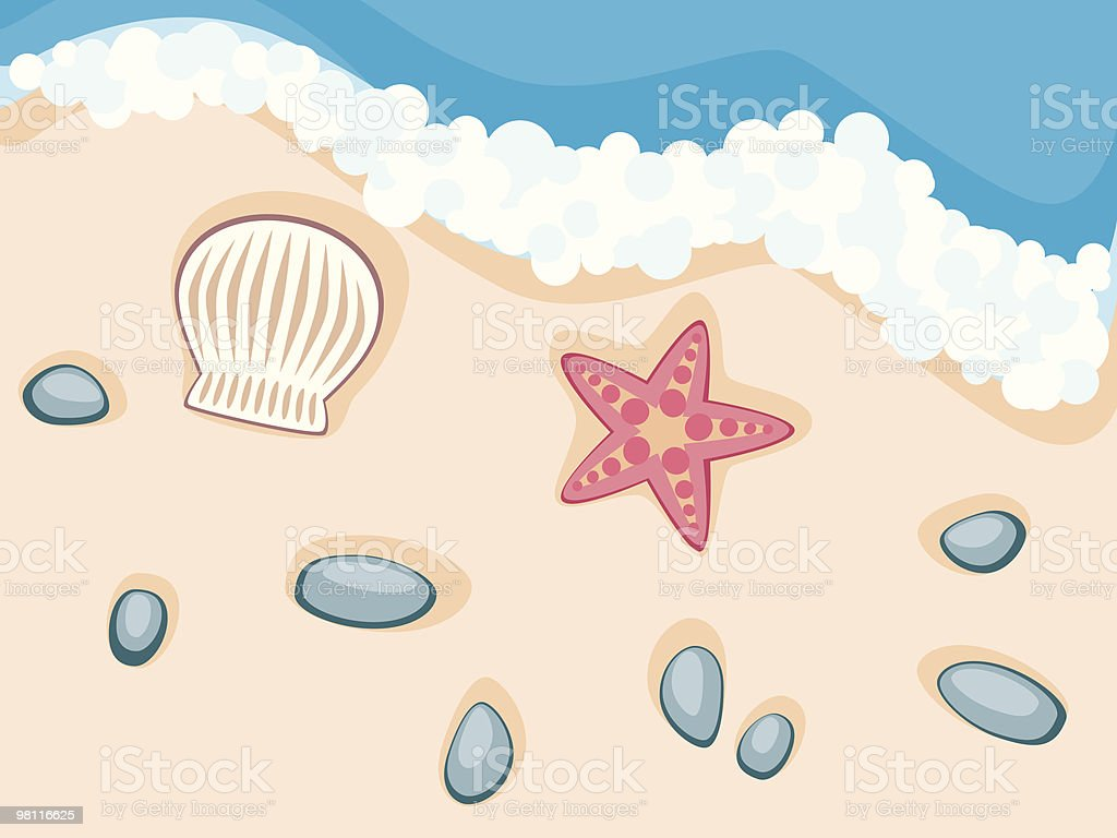 at the beach royalty-free at the beach stock vector art & more images of animal shell