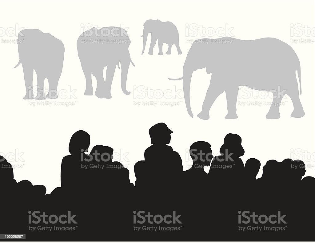 at The Zoo Vector Silhouette royalty-free at the zoo vector silhouette stock vector art & more images of african elephant