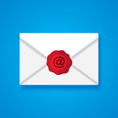 istock At Wax Seal Envelope Icon 1245361254