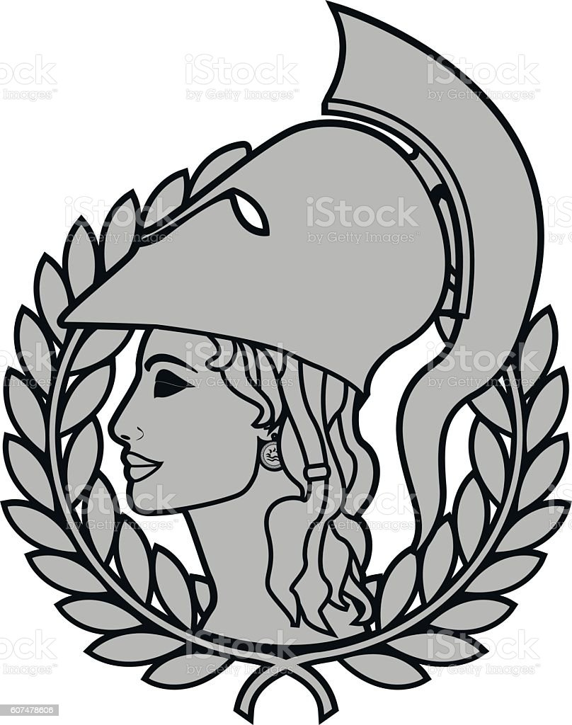 Athena stock vector art more images of ancient 607478606 istock athena royalty free athena stock vector art amp more images of ancient biocorpaavc Images