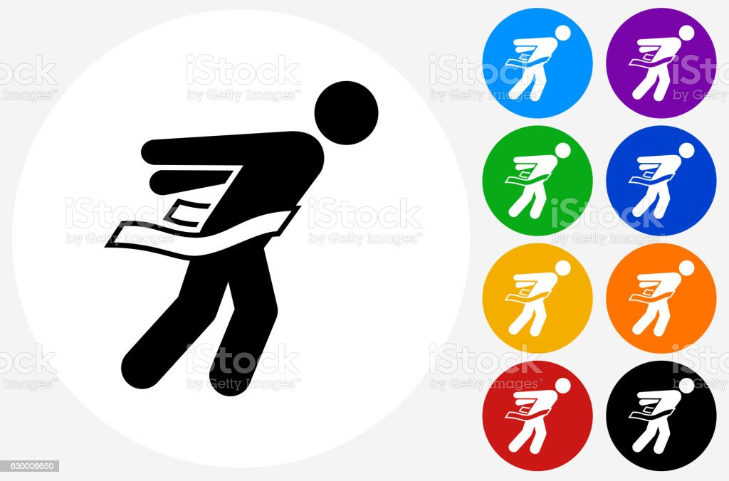 runners crossing finish line clip art, vector images