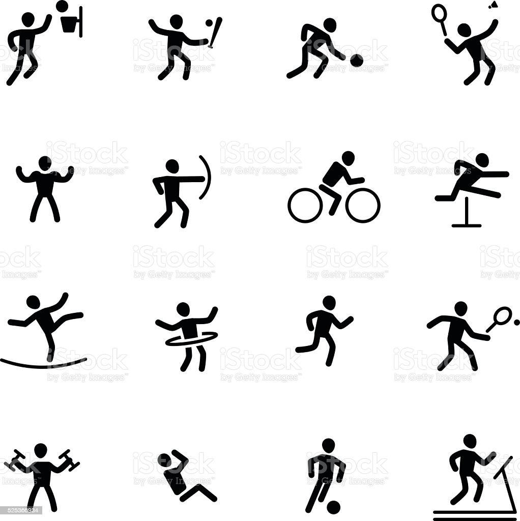 Athlète de Sport - Illustration vectorielle