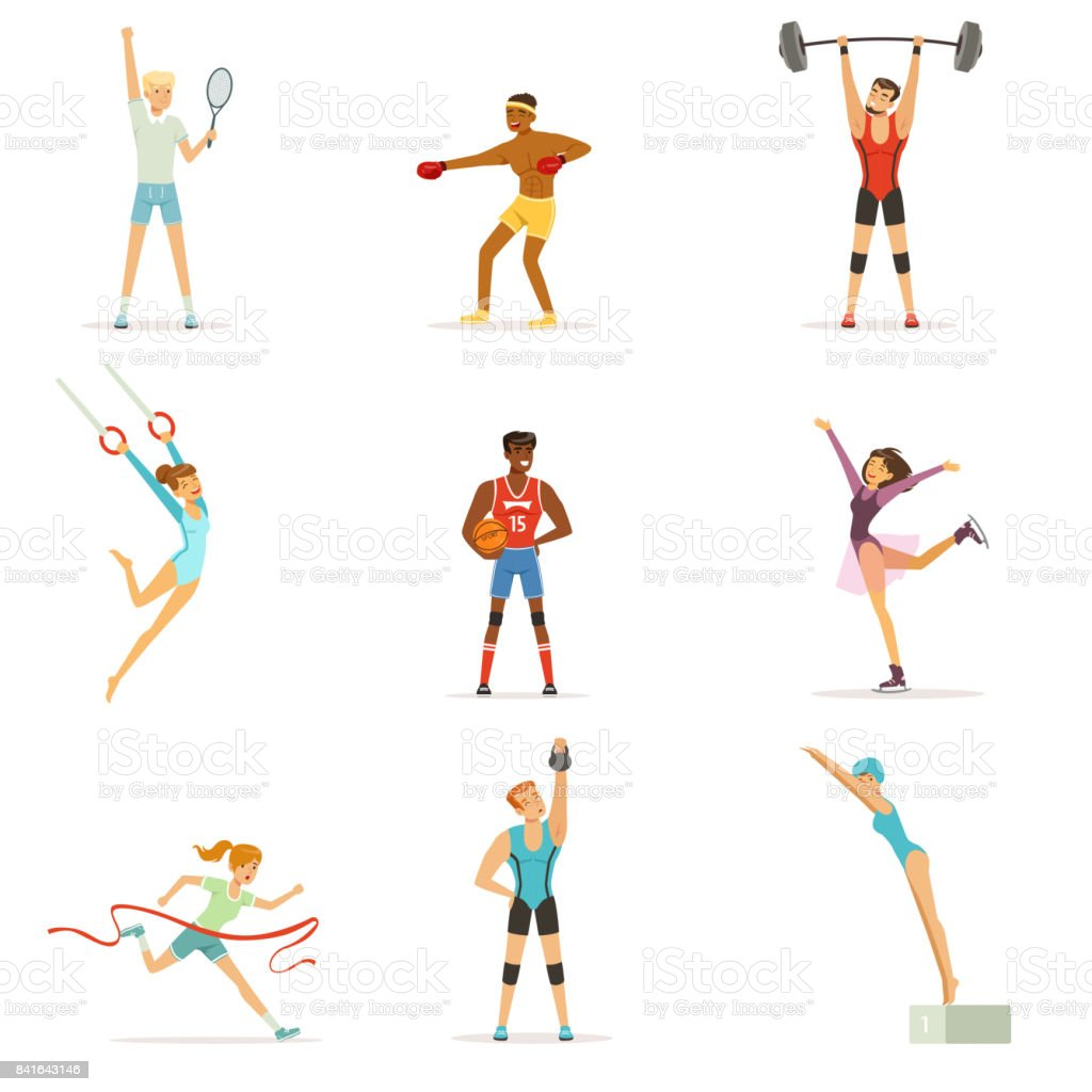 Personas atl ticas haciendo varios tipos de deportes gente for Gimnasio 9 y 57