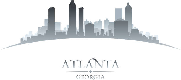 Atlanta georgia skyline Stock Vectors, Royalty Free ...
