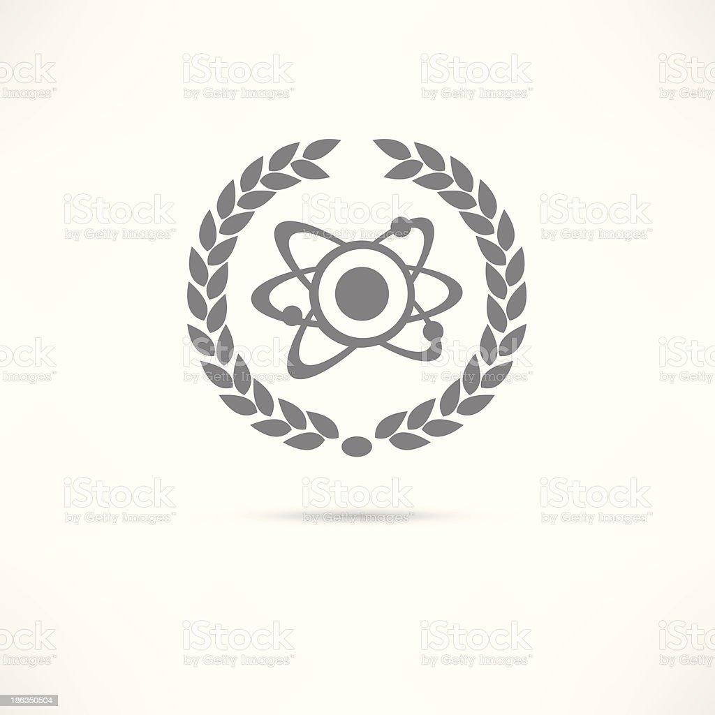 atom icon royalty-free stock vector art