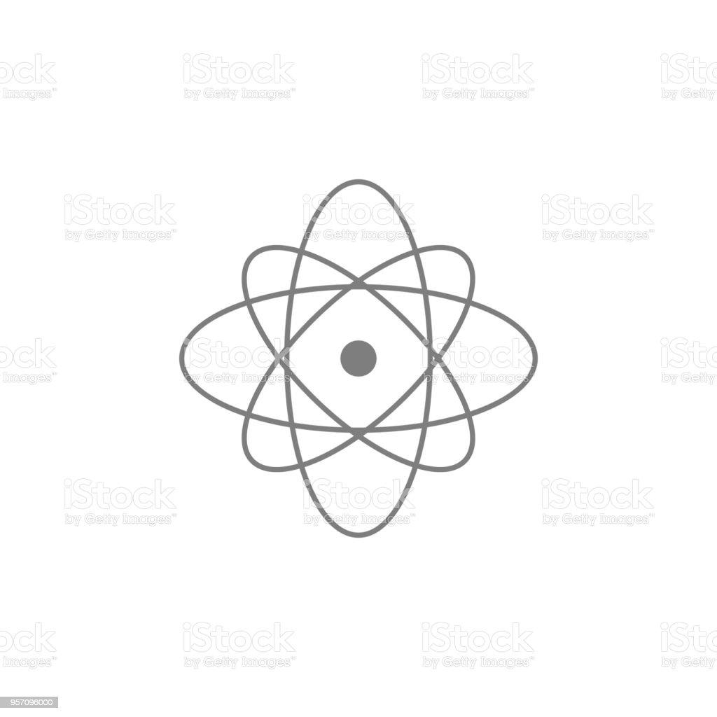 Atom Icon Web Icon Premium Quality Graphic Design Signs Outline