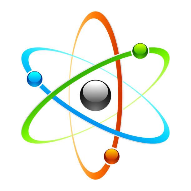 atom シンボル - 物理学点のイラスト素材/クリップアート素材/マンガ素材/アイコン素材