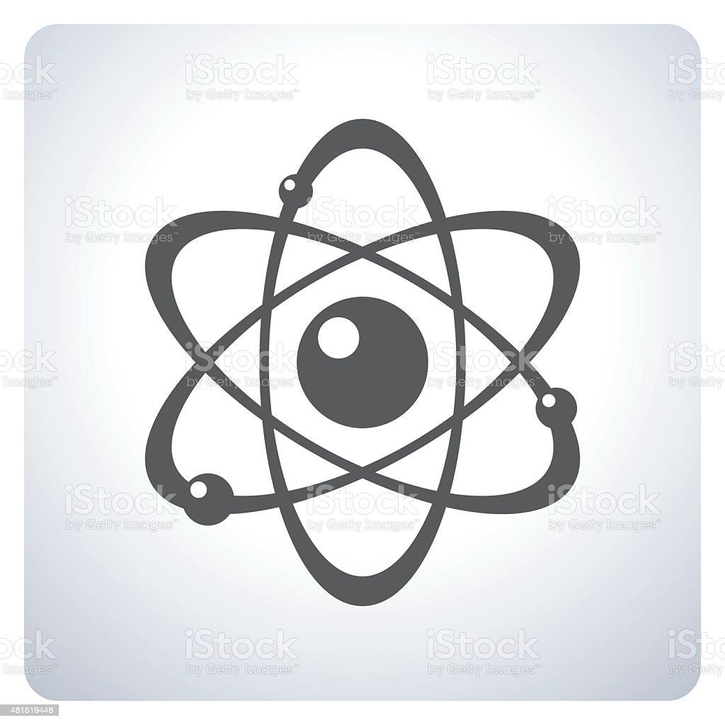 Atom Symbol vector art illustration