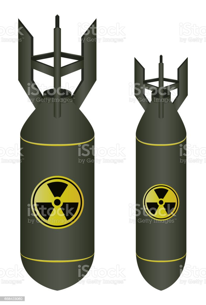 royalty free nuclear bomb clip art  vector images Atomic Bomb Cartoon Atomic Bomb Drawing