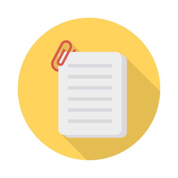 Dateien-Dokument anfügen – Vektorgrafik