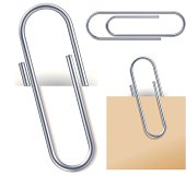 Attached paper clips