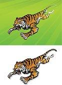 Attacking Tiger