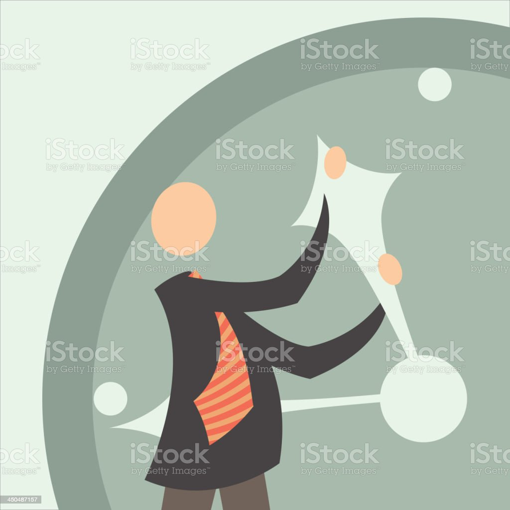 attempts to stop time 2 royalty-free stock vector art