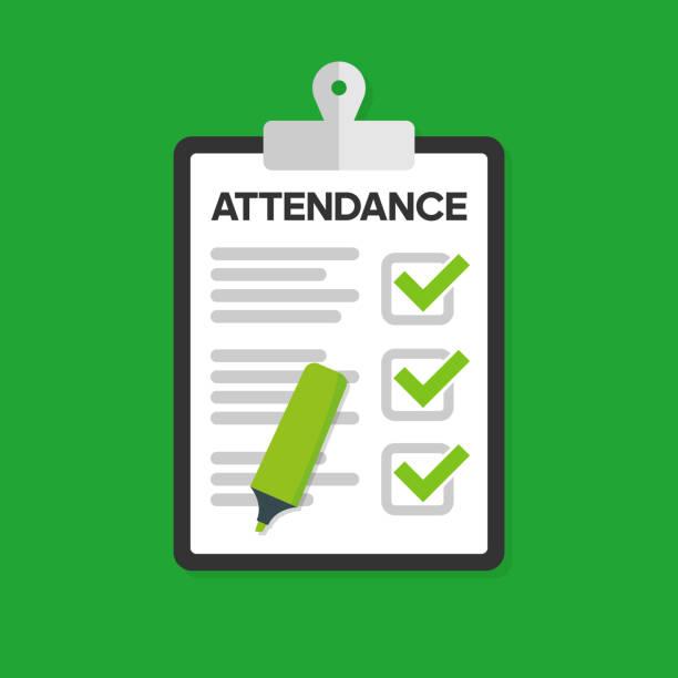 410 School Attendance Illustrations & Clip Art - iStock