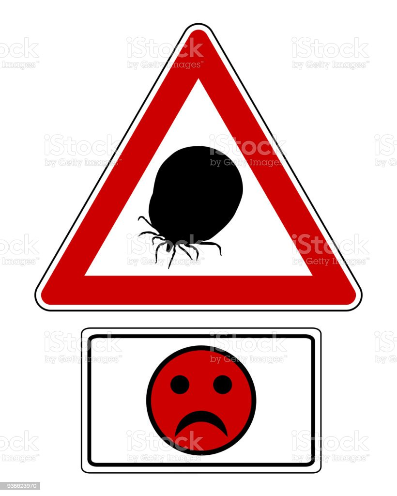 Attention sign with optional label and smiley vector art illustration