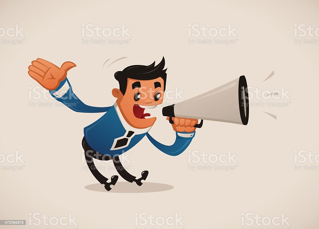 Attention! royalty-free stock vector art