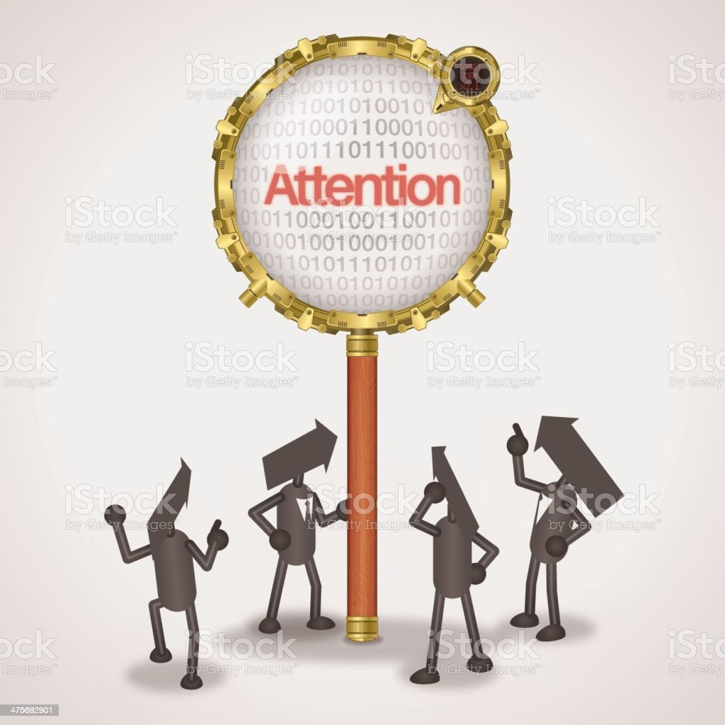 Attention royalty-free attention stock vector art & more images of adult