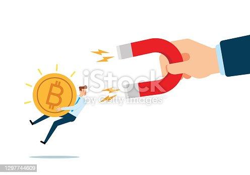 istock Attracting Bitcoin 1297744609
