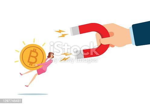 istock Attracting Bitcoin 1297745431