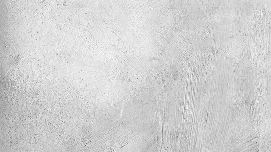 Attractive modern raw and uneven concrete wall surface - handmade gray texture with visible natural imprints, texture and structure of mortar - vector stock illustration