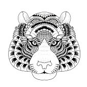 Elegant Owl Coloring Page Stock Vector Art More Images Of 2015