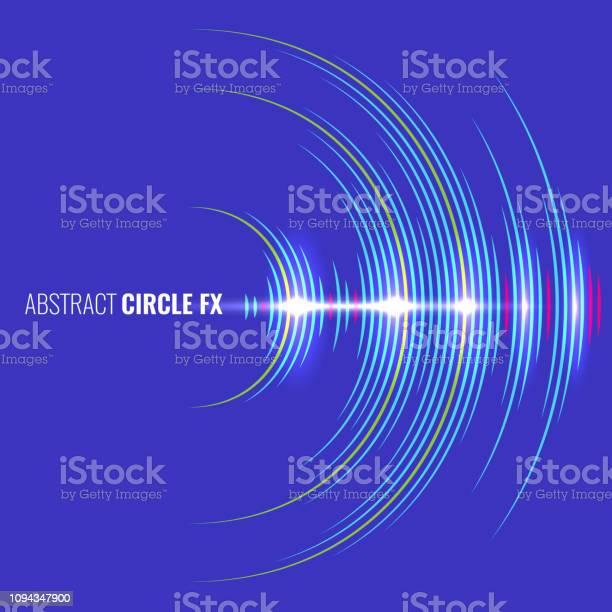 抽象的な音楽波形オーディオ アルバム カバーベクトルの図 - つながりのベクターアート素材や画像を多数ご用意