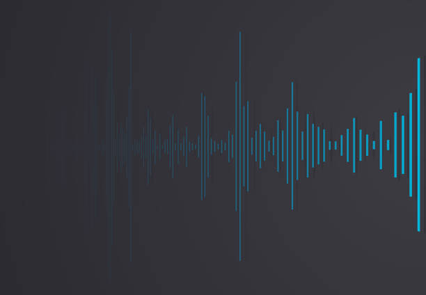 stockillustraties, clipart, cartoons en iconen met samenvatting van audioclip - podcast