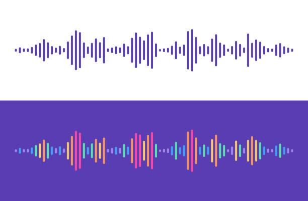 オーディオレベルライン - 声点のイラスト素材/クリップアート素材/マンガ素材/アイコン素材