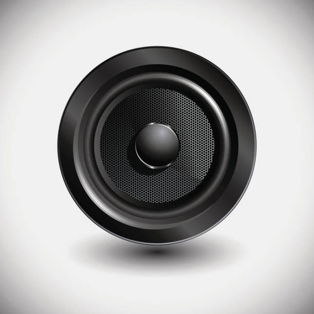 bildbanksillustrationer, clip art samt tecknat material och ikoner med ljud högtalare - speaker