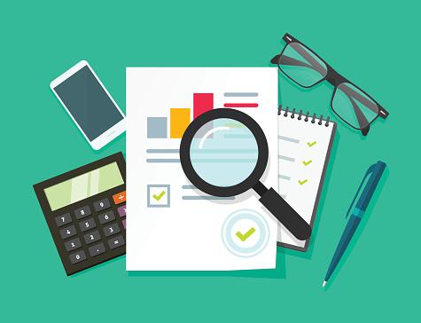 Financial planning stock illustrations