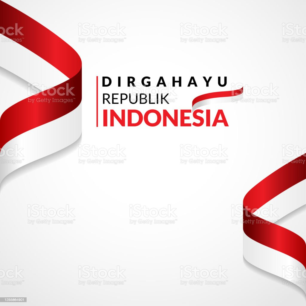 17 August 1945 Happy Indonesia Independent Day Template Of Greeting Card Banner With Lettering Of Happy Independent Day Waving Indonesia Flags Isolated On White Background Vector Illustration Stock Illustration Download Image Now Istock