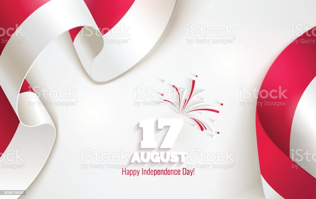17 august indonesia happy independence day greeting card stock indonesia happy independence day greeting card royalty free 17 august indonesia m4hsunfo