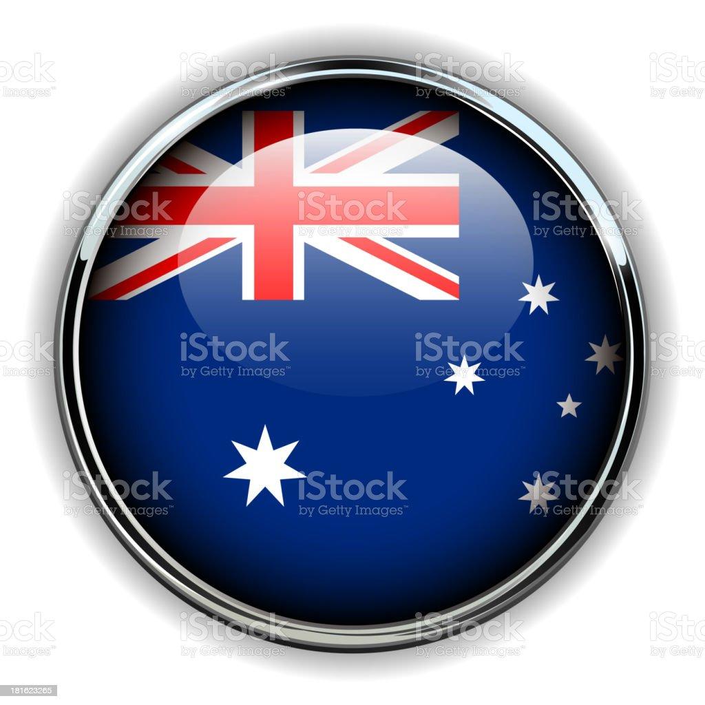 Australia button royalty-free stock vector art