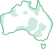 australia like green continent