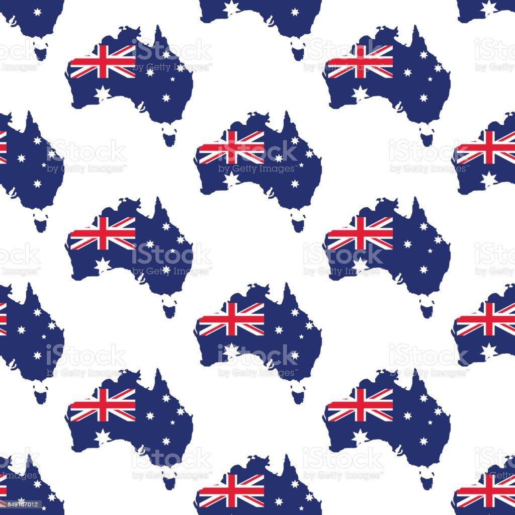 Australia map and flag pattern stock vector art more images of australia map and flag pattern royalty free australia map and flag pattern stock vector art gumiabroncs Choice Image