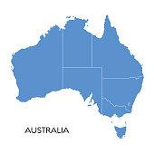 istock Australia map 1147559962