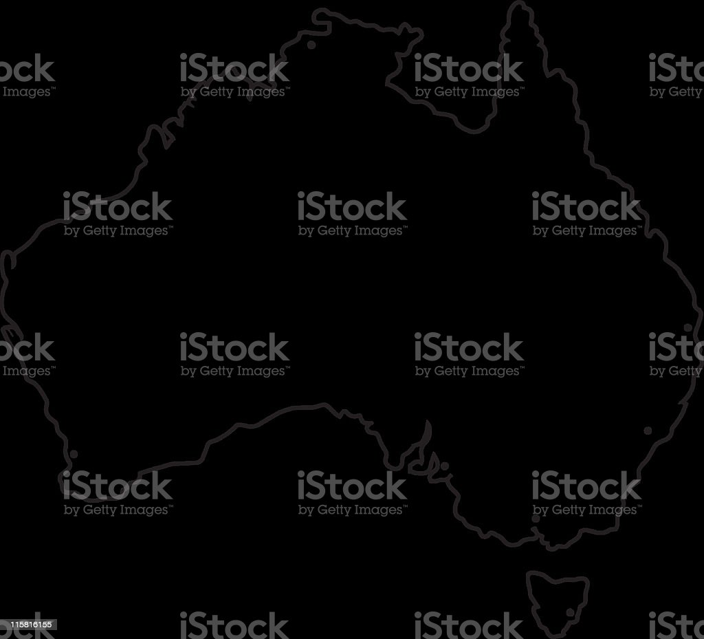 Australia royalty-free stock vector art