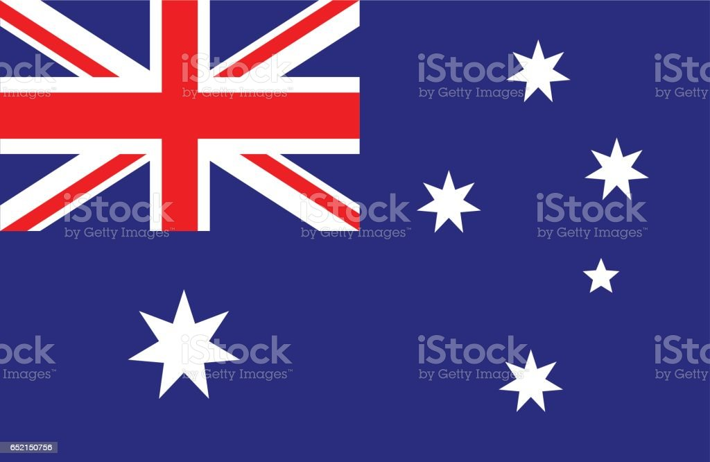 Australia vector art illustration