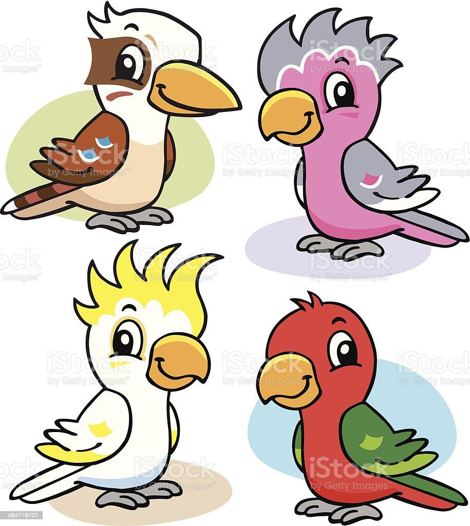 Australische Vögel Stock Vektor Art und mehr Bilder von Australien ...