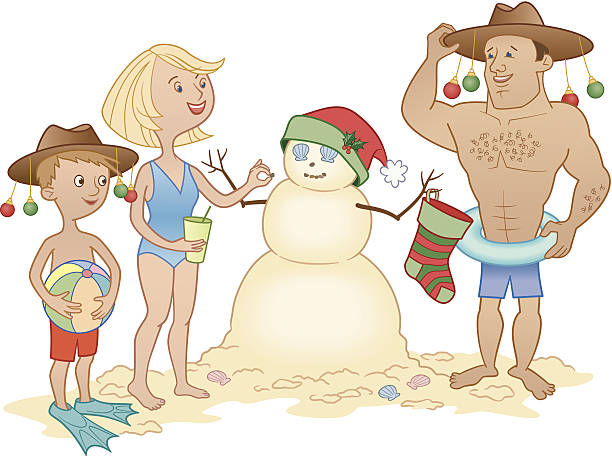75 Christmas In July Illustrations Clip Art Istock