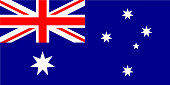 australian flag vector - Australia flag illustration