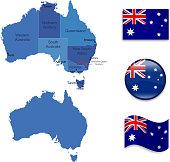Australian icon set