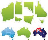Australian Map & States