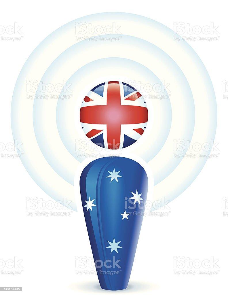 Australiano Podcast australiano podcast - immagini vettoriali stock e altre immagini di australia royalty-free
