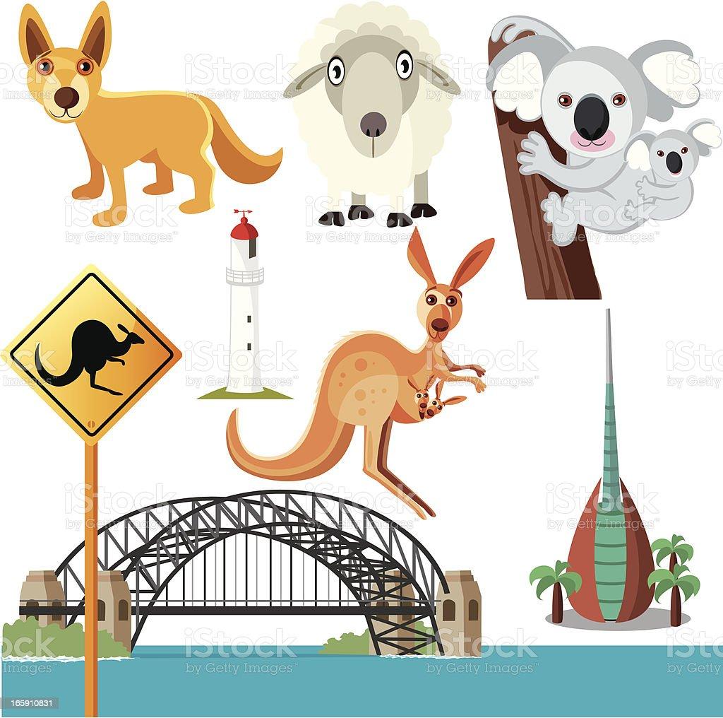 Australian symbols stock vector art more images of australia australian symbols royalty free australian symbols stock vector art amp more images of australia biocorpaavc Choice Image