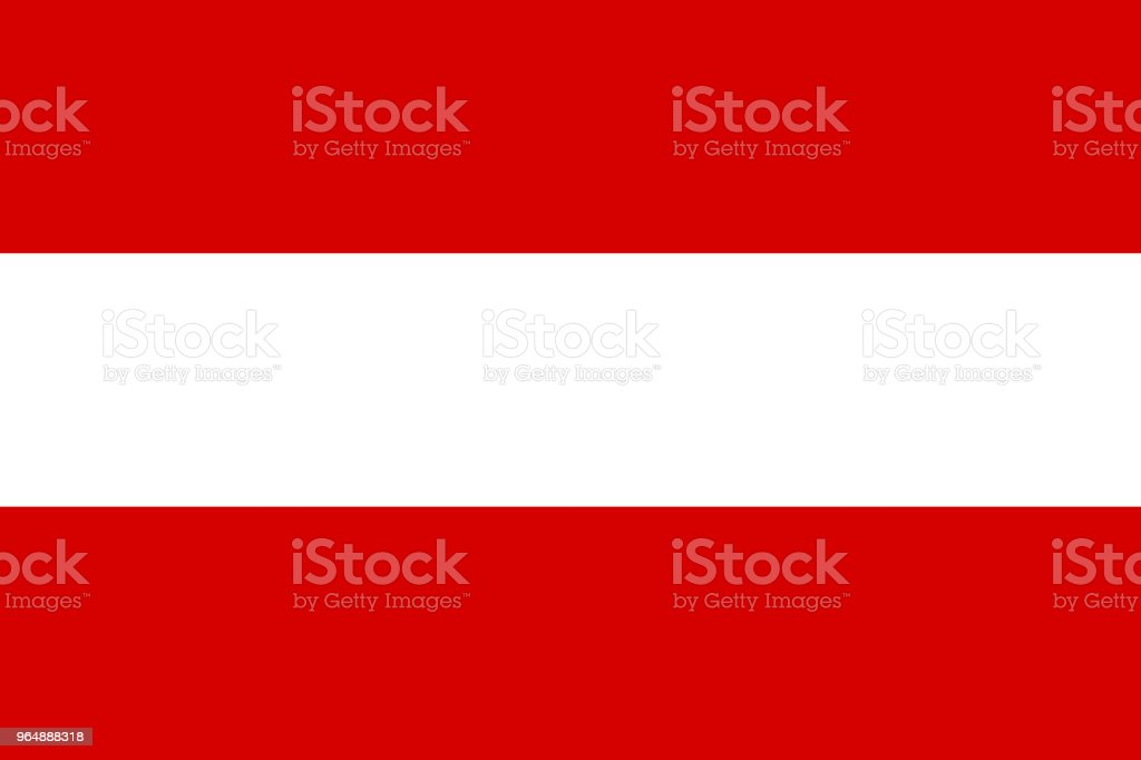 Austria flag. National flag of Austria, vector royalty-free austria flag national flag of austria vector stock vector art & more images of allegory painting