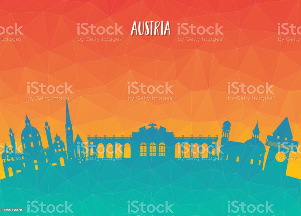 Austria Landmark Global Travel And Journey paper background. Vector Design Template.used for your advertisement, book, banner, template, travel business or presentation austria landmark global travel and journey paper background vector design templateused for your advertisement book banner template travel business or presentation - stockowe grafiki wektorowe i więcej obrazów austria royalty-free